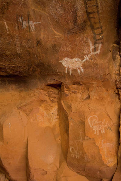 Photograph - Pictographs by Tom Singleton