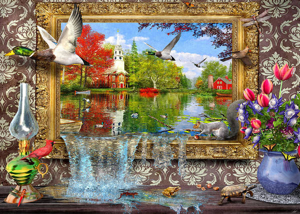 Wall Art - Painting - Picture Of Life by MGL Meiklejohn Graphics Licensing
