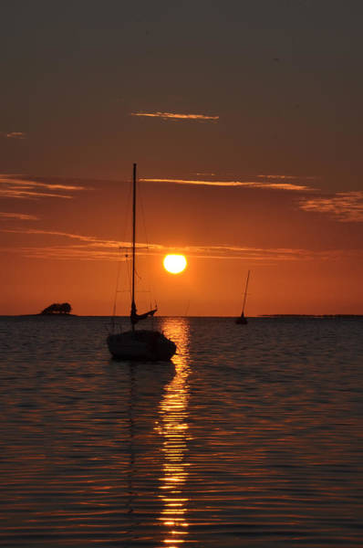 Photograph - Picture Perfect Sunset by Bill Cannon