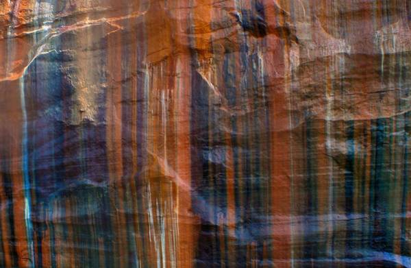 Photograph - Pictured Rocks Lines Of Color by Dan Sproul