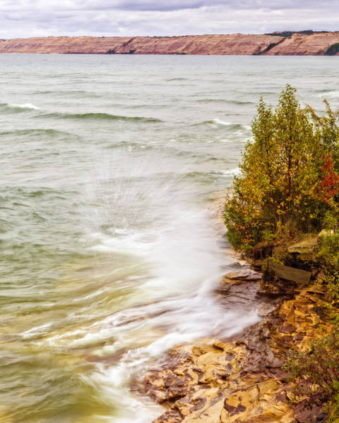 Photograph - Pictured Rocks National Lakeshore by Jack R Perry