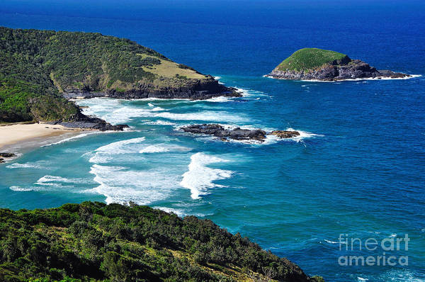 West Wales Photograph - Picturesque Australian Beach - Coastline by Kaye Menner