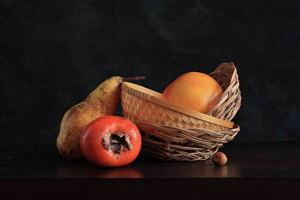 Wood Photograph - Picturesque Fruit by Panga Natalie Ukraine