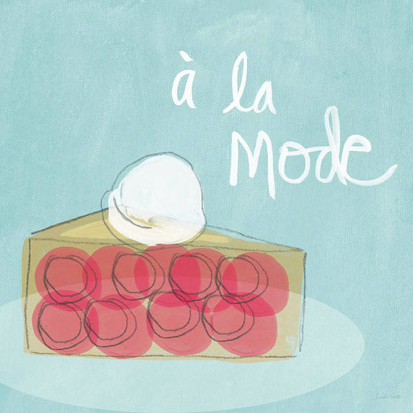 Wall Art - Painting - Pie A La Mode by Linda Woods