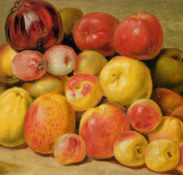 Pomegranates Painting - Pieces Of Fruit  by Johann Heinrich Wilhelm Tischbein
