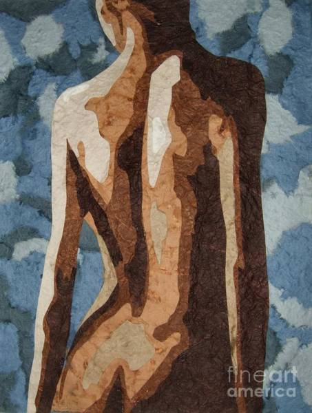 Abstract People Painting - Pieces Of You by Alison Schmidt Carson