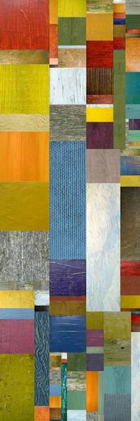 Painting - Pieces Parts Ll by Michelle Calkins