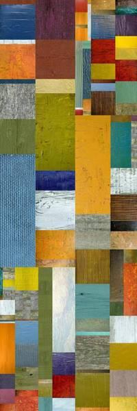 Painting - Pieces Parts Lv by Michelle Calkins