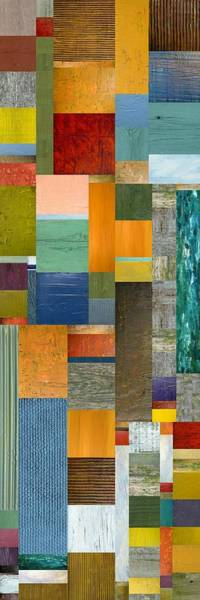 Painting - Pieces Parts V by Michelle Calkins
