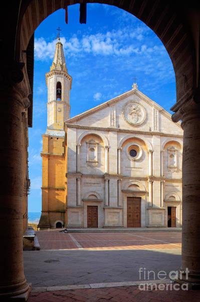 Duomo Photograph - Pienza Duomo by Inge Johnsson