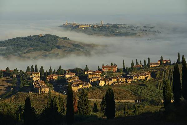 Wall Art - Photograph - Pienza Morning by Christian Heeb