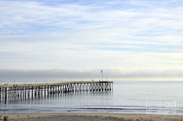 Photograph - Pier by Gandz Photography