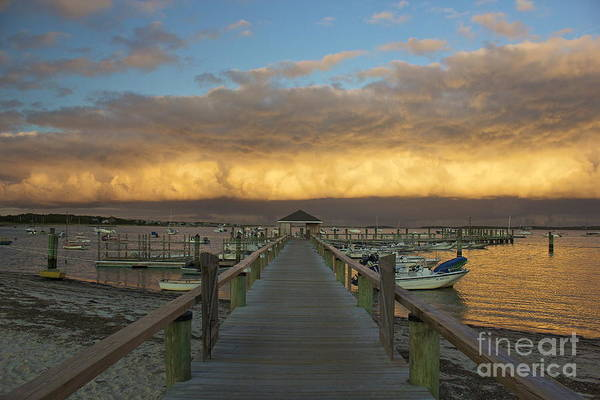Photograph - Pier At The Kennedy Compound by Amazing Jules