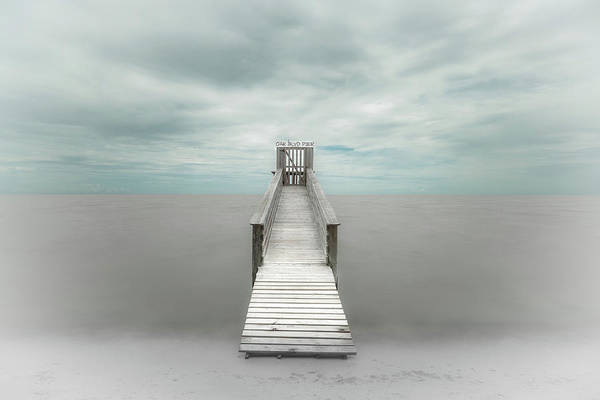 Silky Wall Art - Photograph - Pier by Martin Steeb
