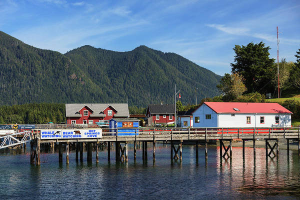Vancouver Island Photograph - Pier On Harbor by Ken Gillespie / Design Pics