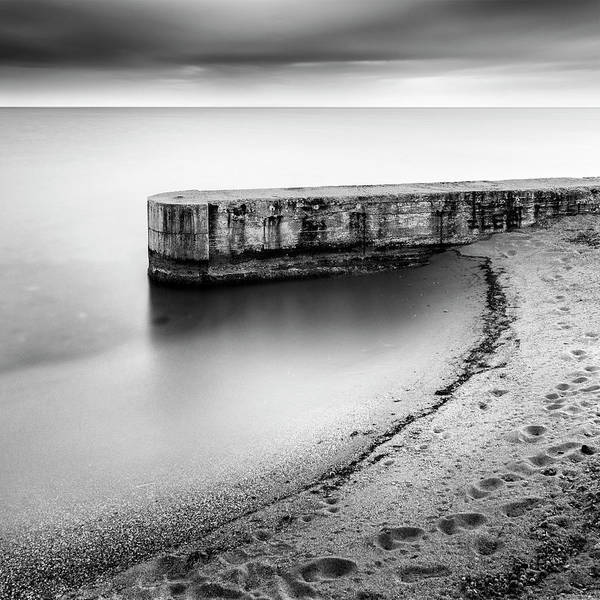Wall Art - Photograph - Pier On The Beach by George Digalakis