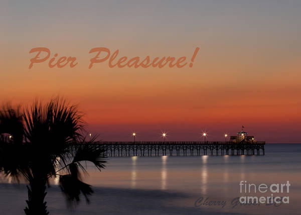 Wall Art - Photograph - Pier Pleasure by Roger Bailey