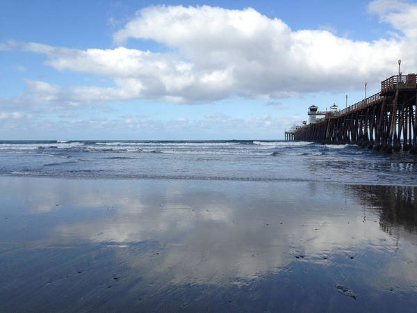 Wall Art - Photograph - Pier Reflection by Go Inspire Beauty