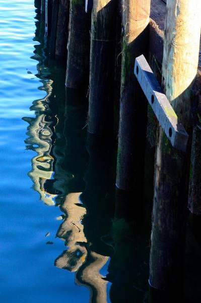 Photograph - Pier Reflection by Stuart Litoff