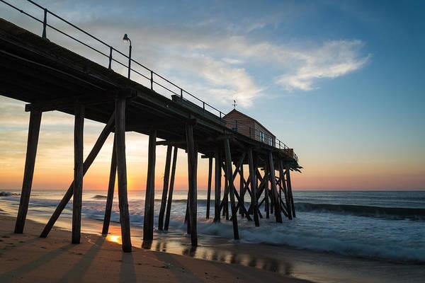 Jersey Shore Photograph - Pier Side by Kristopher Schoenleber