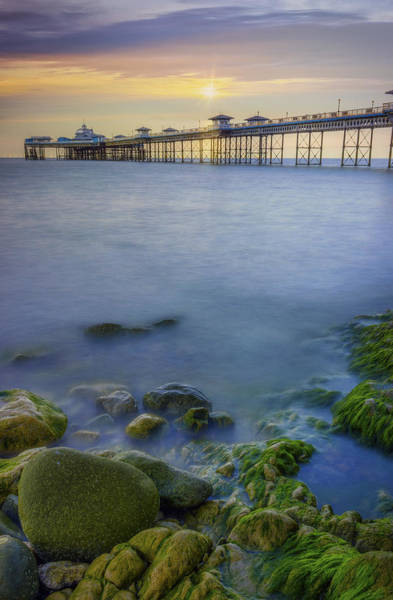 Photograph - Pier Sunrise by Ian Mitchell