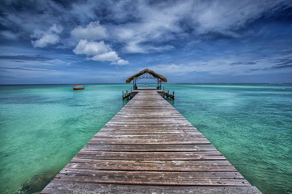 Trinidad Wall Art - Photograph - Pier To Paradise by Timothy Corbin