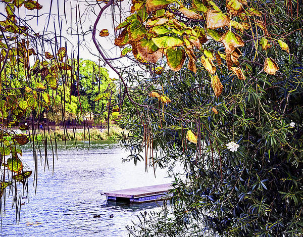 Wall Art - Photograph - Pier View 3 - Autumn Is Coming by Madeline Ellis