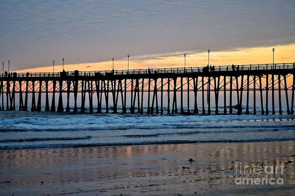 Photograph - Pier View by Bridgette Gomes