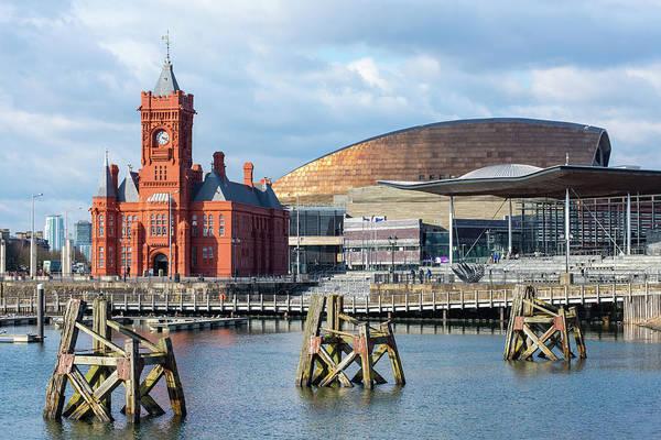Cardiff Photograph - Pierhead Building, The Senedd, Cardiff by Chris Hepburn