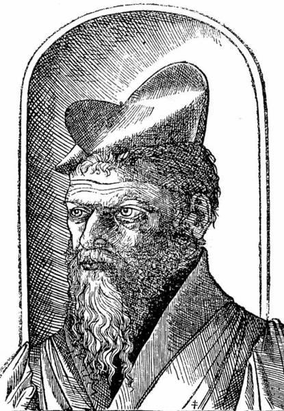 Woodcut Photograph - Pierre Belon by Universal History Archive/uig