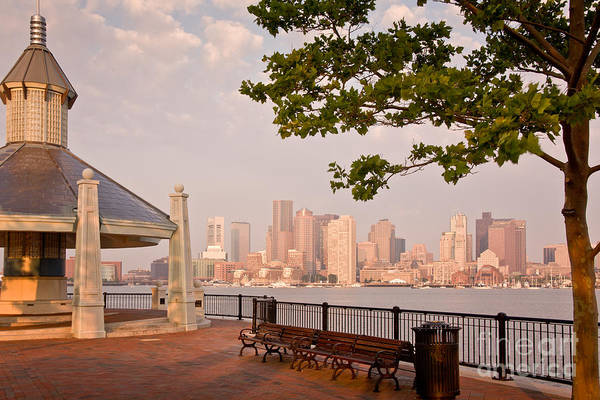 Photograph - Piers Park View Of Boston by Susan Cole Kelly