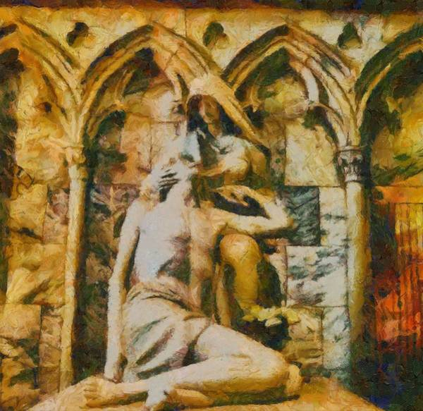 Redemption Painting - Pieta Masterpiece by Dan Sproul