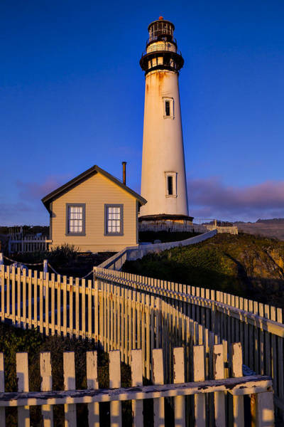 Pigeon Photograph - Pigeon Point At Sunset by Garry Gay