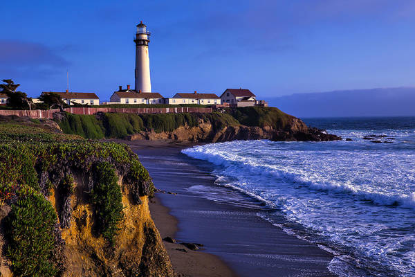 Coast Guard House Photograph - Pigeon Point Landscape by Garry Gay