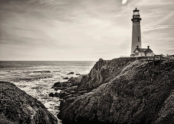Photograph - Pigeon Point Light by Heather Applegate