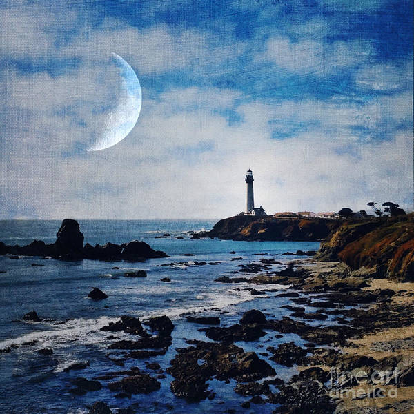 Iphoneography Wall Art - Photograph - Pigeon Point Lighthouse by Elena Nosyreva