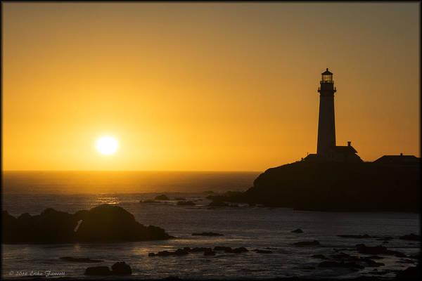 Photograph - Pigeon Point Lighthouse by Erika Fawcett