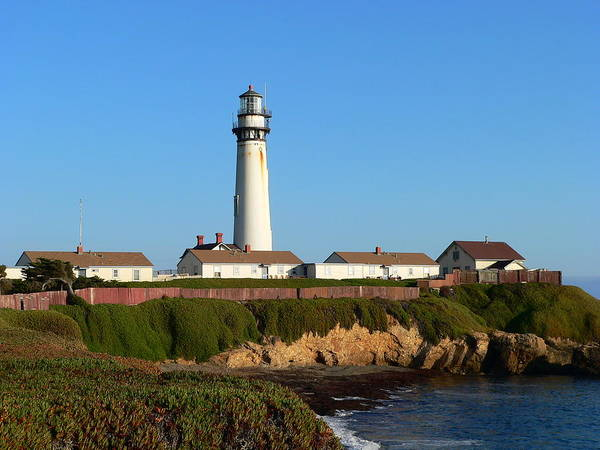 Photograph - Pigeon Point Lighthouse by Jeff Lowe