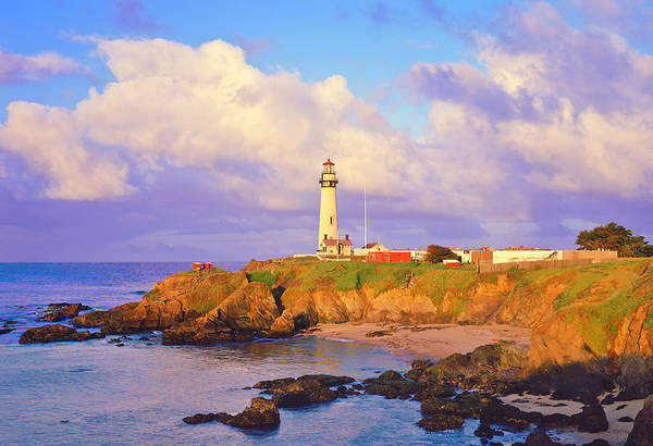 1 Photograph - Pigeon Point Lighthouse On California by Ron thomas