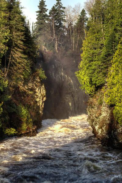 Canon Eos 6d Photograph - Pigeon River Below High Falls by Jakub Sisak