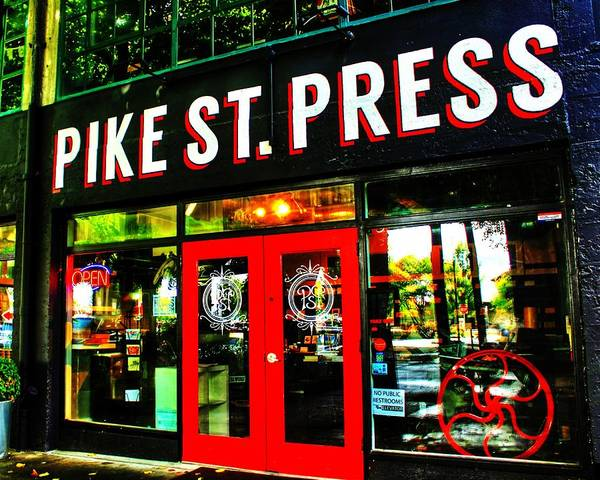 Pike Place Photograph - Pike Press by Benjamin Yeager