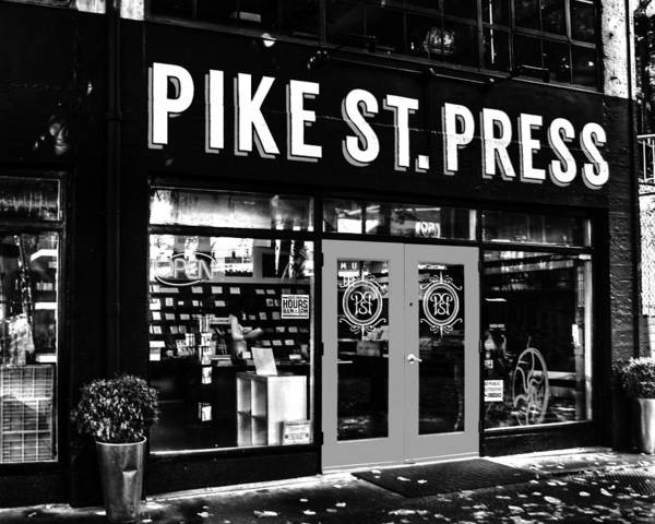 Pike Place Photograph - Pike St Press by Benjamin Yeager
