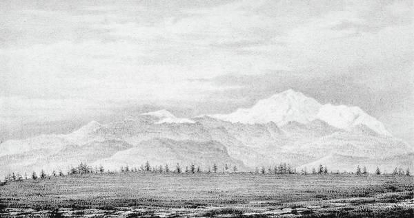 Pikes Peak Painting - Pike's Peak, 1845 by Granger