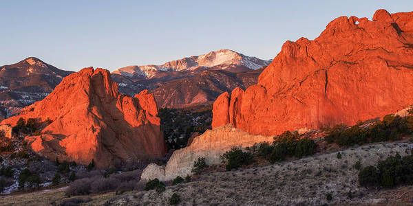 Wall Art - Photograph - Pikes Peak 2 by Aaron Spong