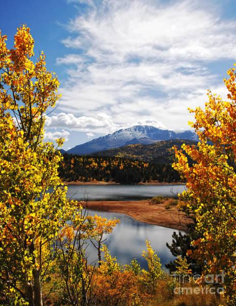 Pikes Peak In Autumn Art Print