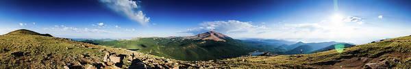 Colorado Photograph - Pikes Peak Panoramic From Almagre by Photo By Matt Payne Of Durango, Colorado
