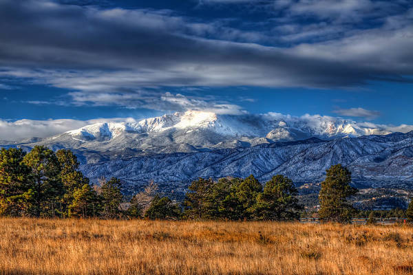 El Paso County Photograph - Pike's Peak by Tom Weisbrook