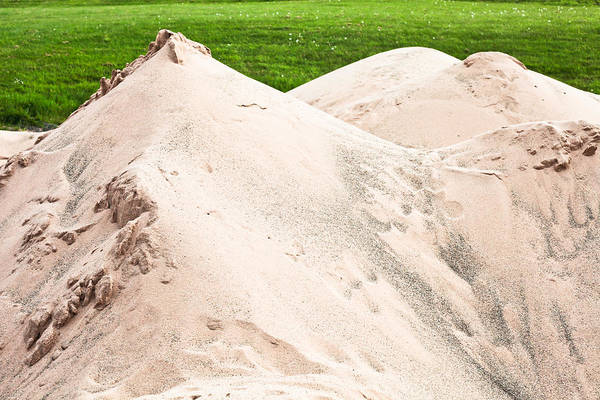 Brown Wall Art - Photograph - Pile Of Sand by Tom Gowanlock