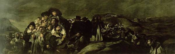 Suffering Wall Art - Photograph - Pilgrimage To San Isidros Fountain, C.18213 Oil On Canvas by Francisco Jose de Goya y Lucientes