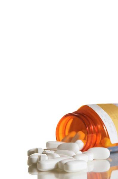 Wall Art - Photograph - Pill Bottle by Cdc/science Photo Library